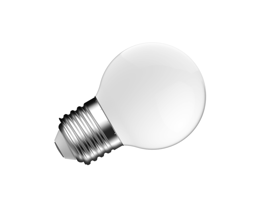 Ledlamp - E27 - 470 lm - kogel - mat