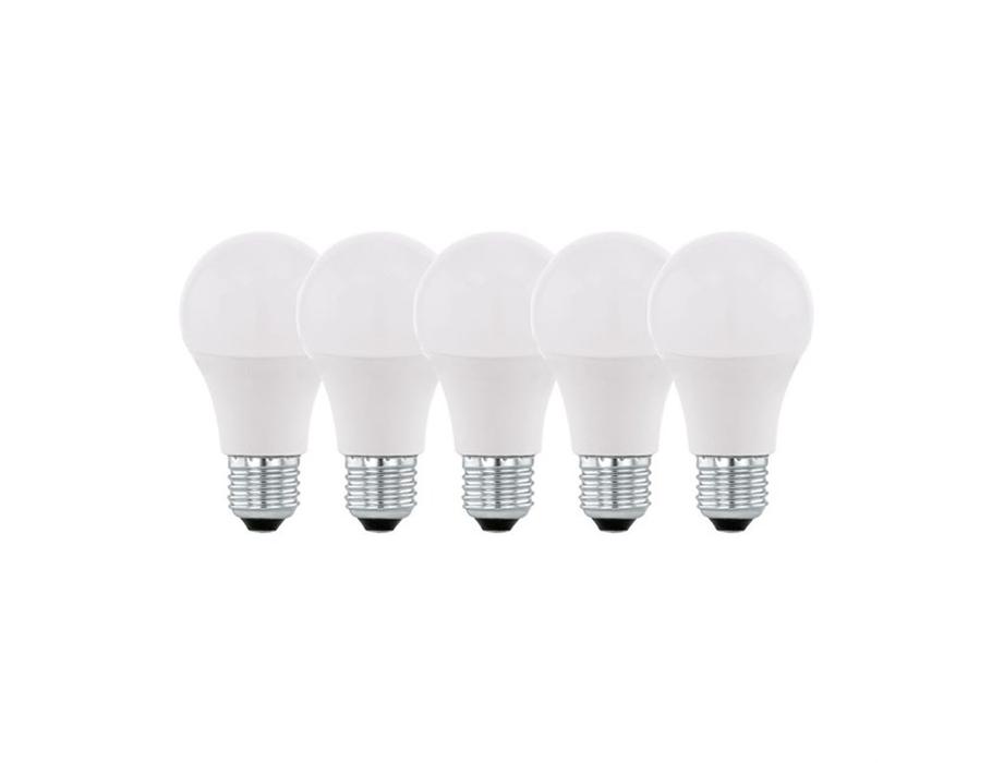 Ledlamp - E27 - 806 lm - 2700K - Mat - 5 stuks