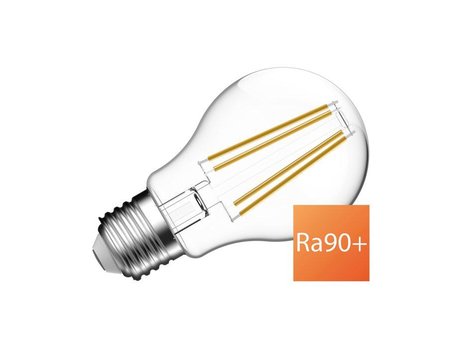 Ledlamp - E27 - 810 lm - bol - helder - dimbaar