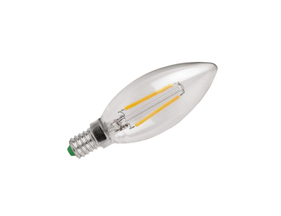 Ledlamp - E14 - 250 lm - kaars - helder