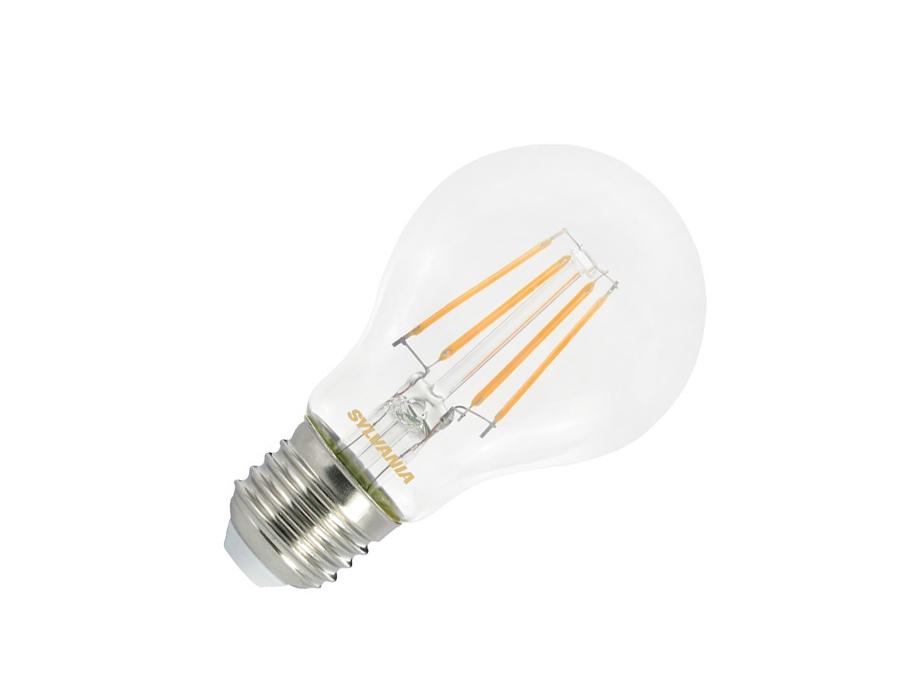 Ledlamp - E27 - 470 lm - Bol - helder