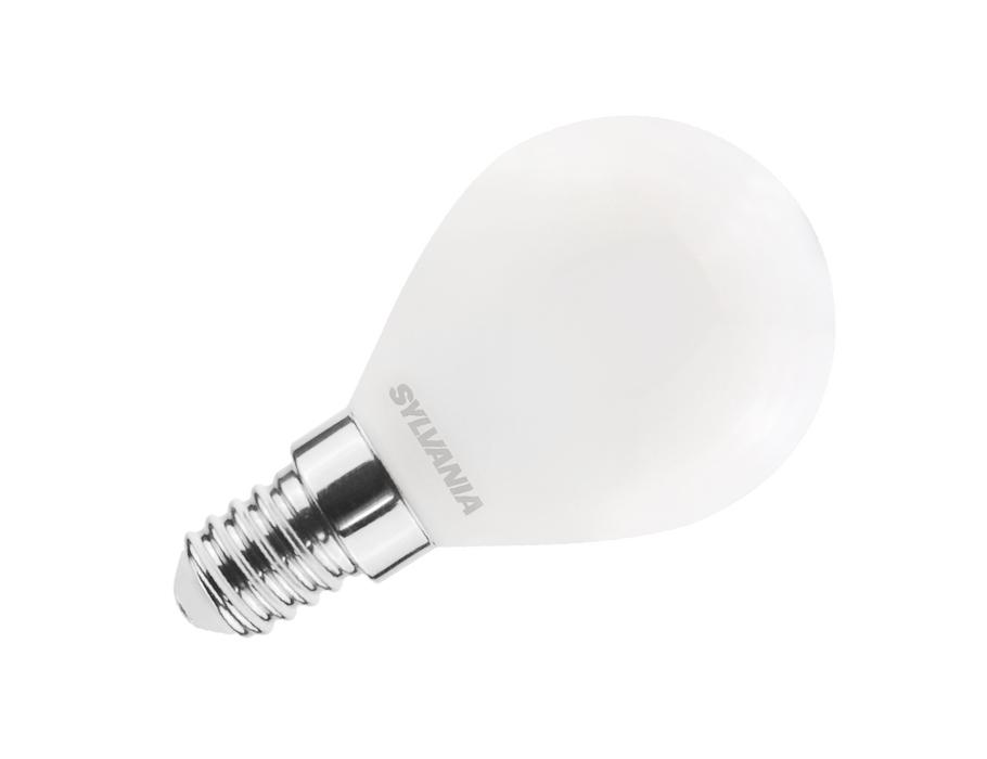 Ledlamp - E14 - 806 lm - kogel - mat