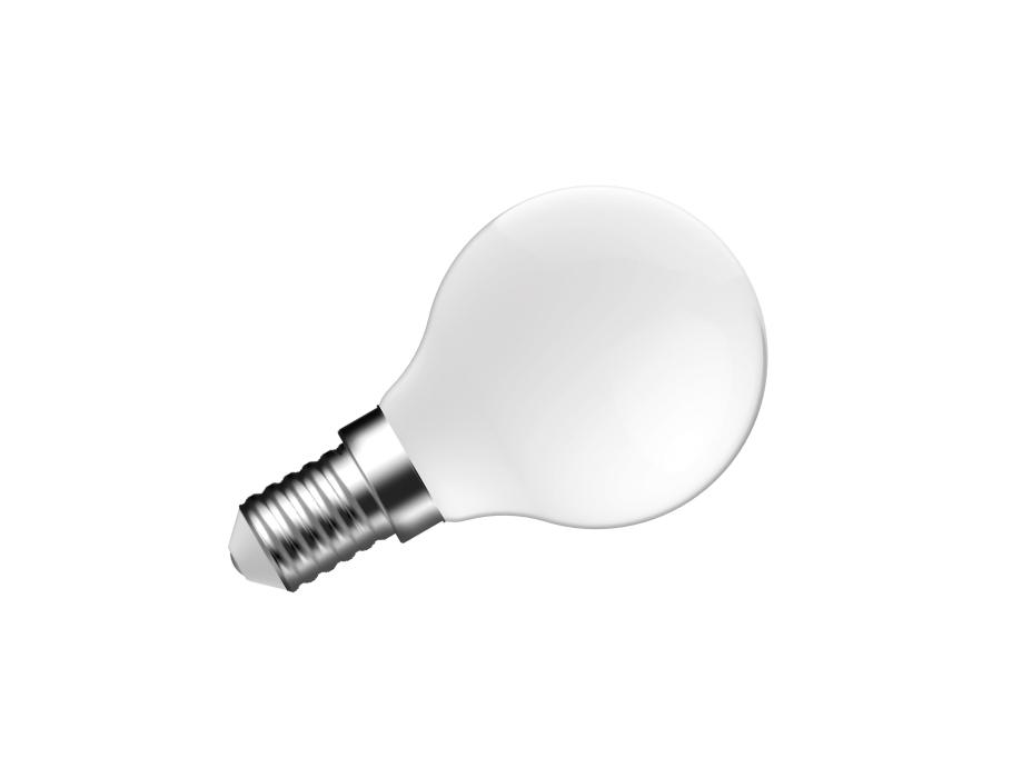 Ledlamp - E14 - 250 lm - kogel - mat