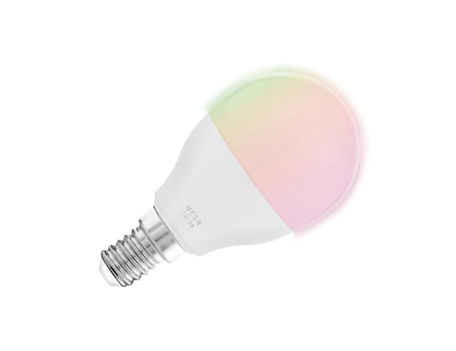 Ledlamp - E14 - 470 lm - Kogel - Mat - Smart
