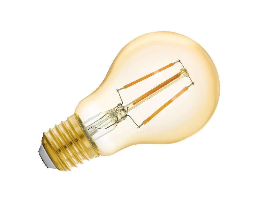 Ledlamp - E27 - 500 lm - Bol - Helder - Smart
