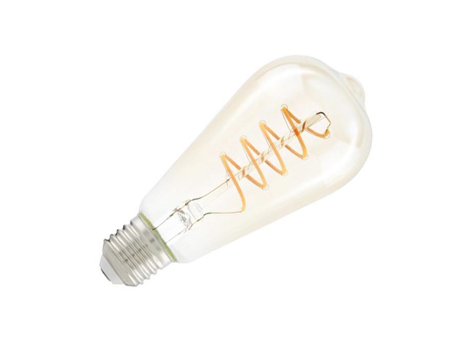 Ledlamp - E27 - 260 lm - Ovaal - Amber