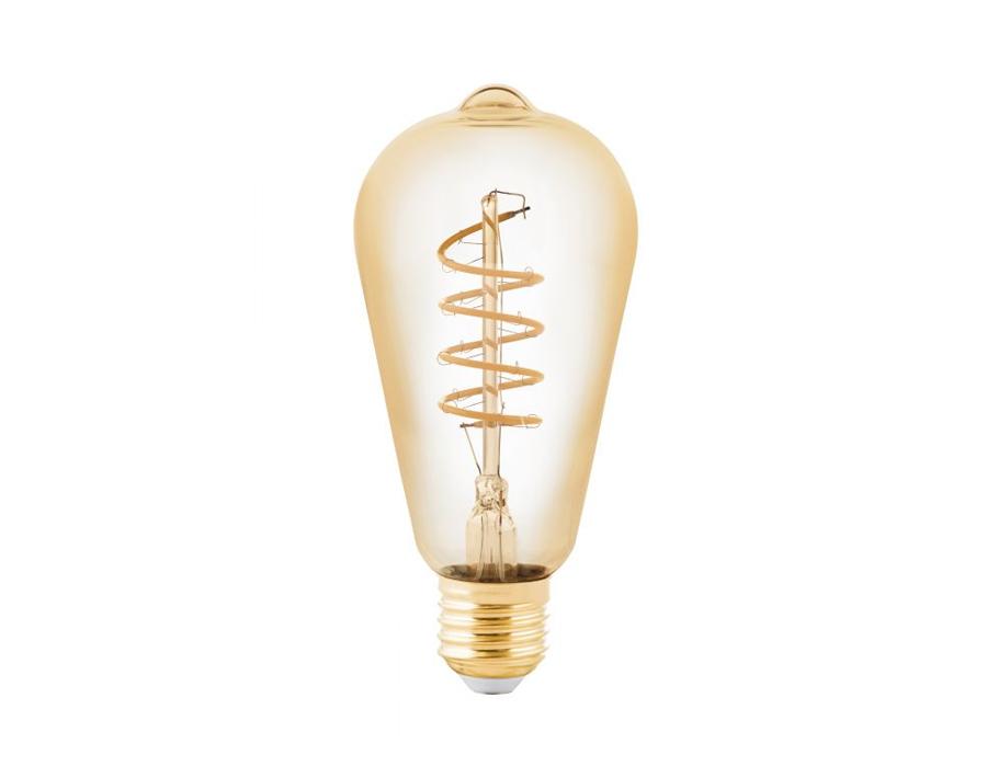 Ledlamp - Ovaal met spiraal - E27 - 245 lm - Dimbaar
