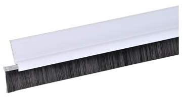 deurborstel standaard met borstel wit