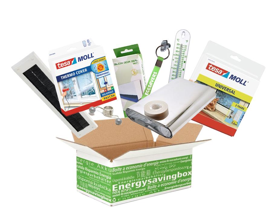Energiebespaarbox - Large - Gas
