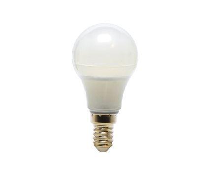 Ledlamp - E14 - 380 lm - kogel - mat - dimbaar
