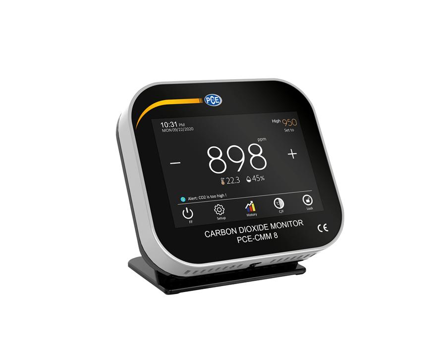 Klimaatmeter CO2 - PCE-CMM 8
