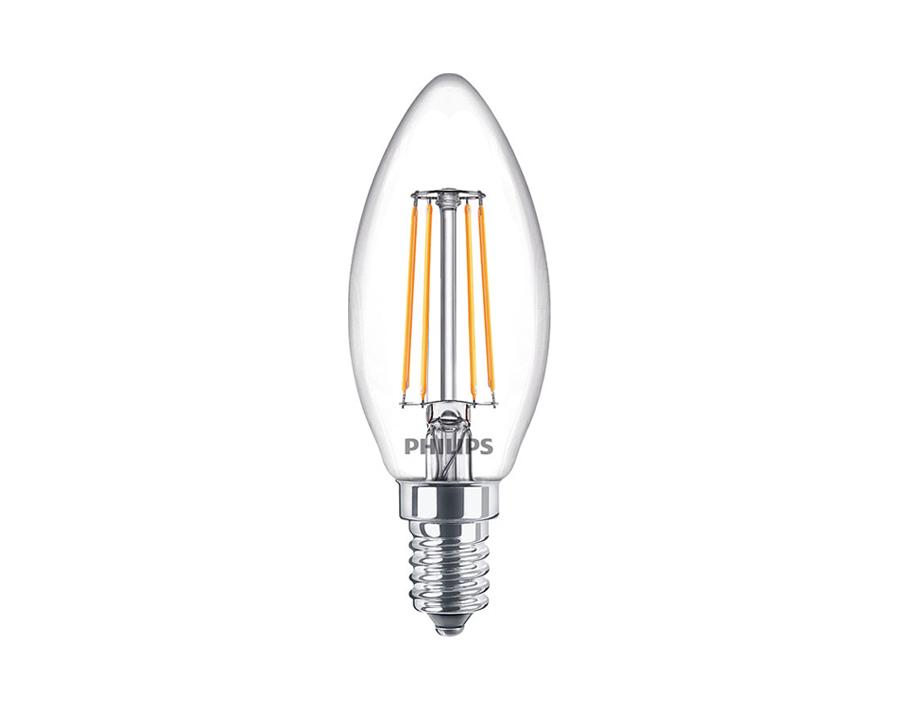 Ledlamp Kaars - E14 - 470 lm - dimbaar