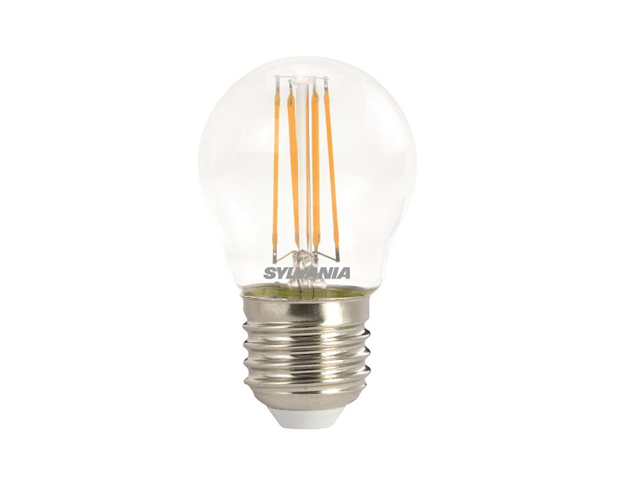 Ledlamp - Kogel - E27 - 470 lm - helder - dimbaar