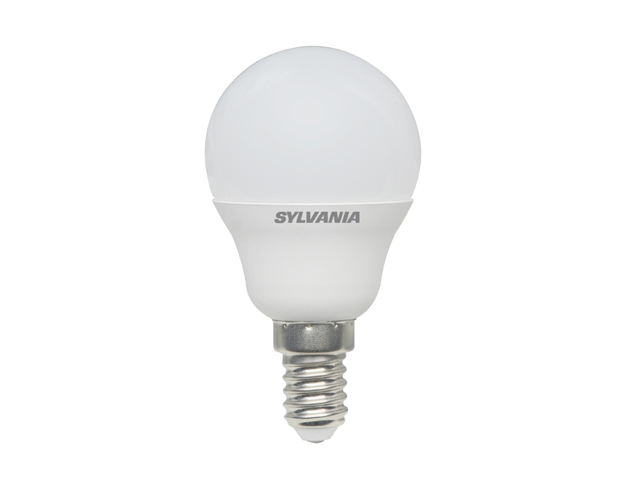 Ledlamp - E14 - 470lm - kogel - mat