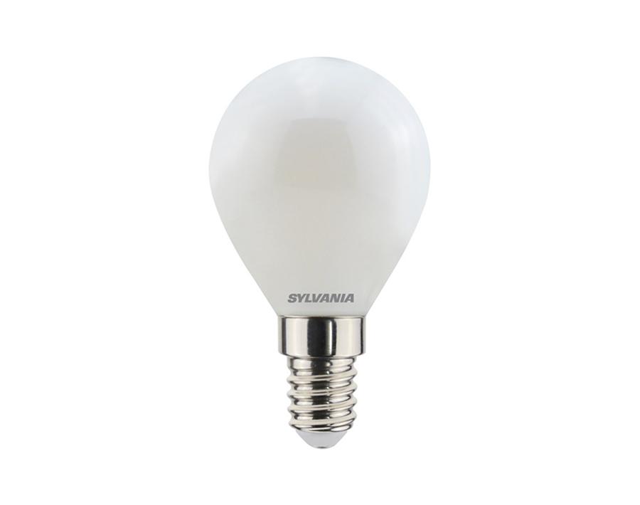Ledlamp - Kogel - E14 - 470 lm - mat - dimbaar