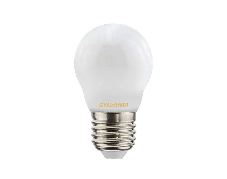 Ledlamp - Kogel - E27 - 470 lm - mat - dimbaar