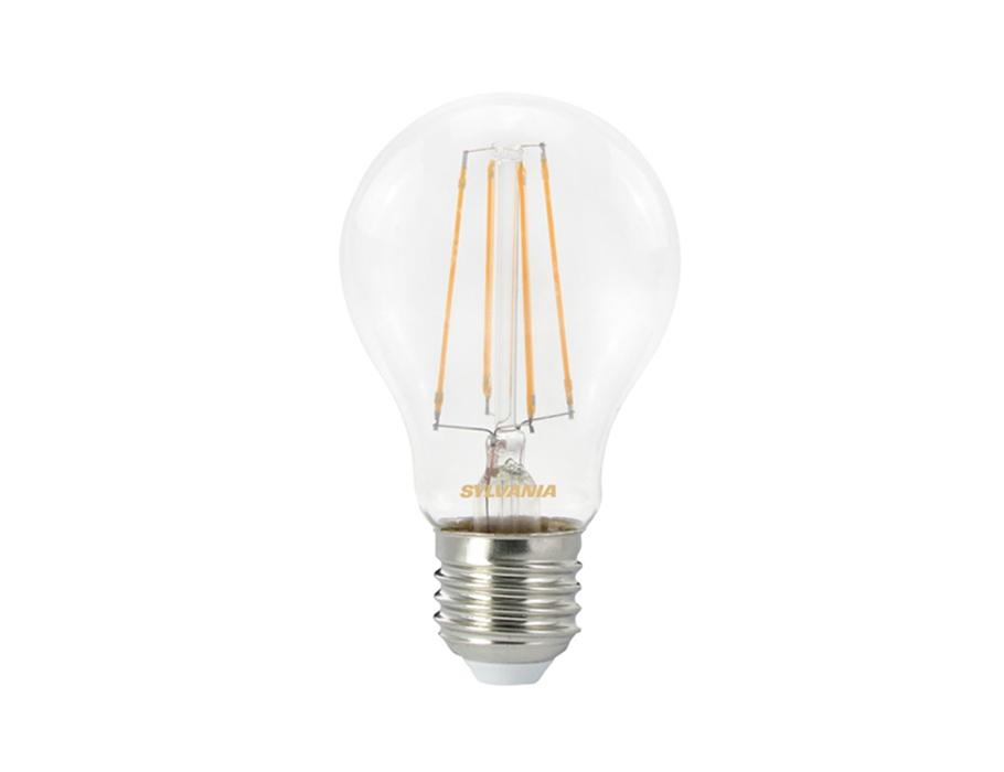 Ledlamp - E27 - 806 lm - bol - doorzichtig