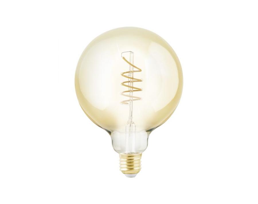 Ledlamp - Bol - E27 - 245 lm - Amber - Dimbaar - Spiraal